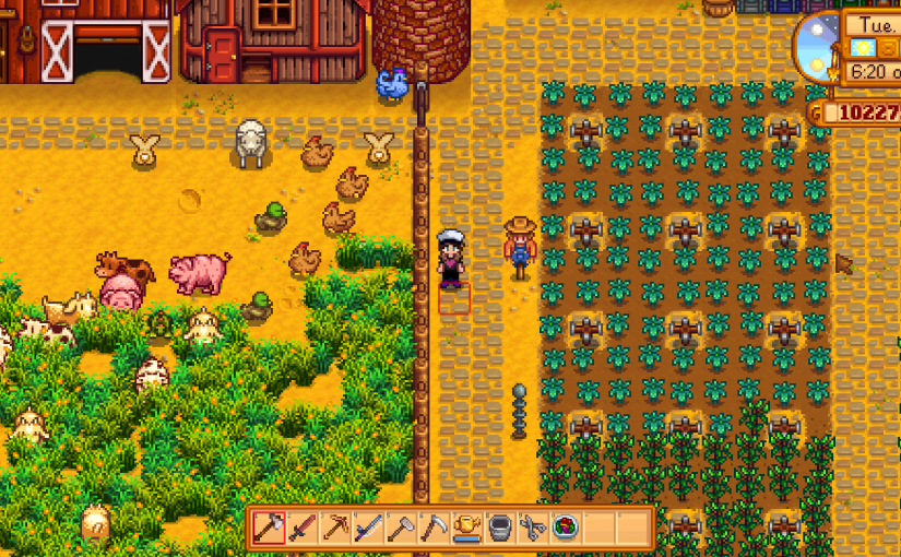 Not Just A Game Episode 6: Farming in Stardew Valley!